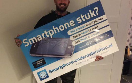 Reparatie laten uitvoeren bij telefoonwinkel in Doetinchem